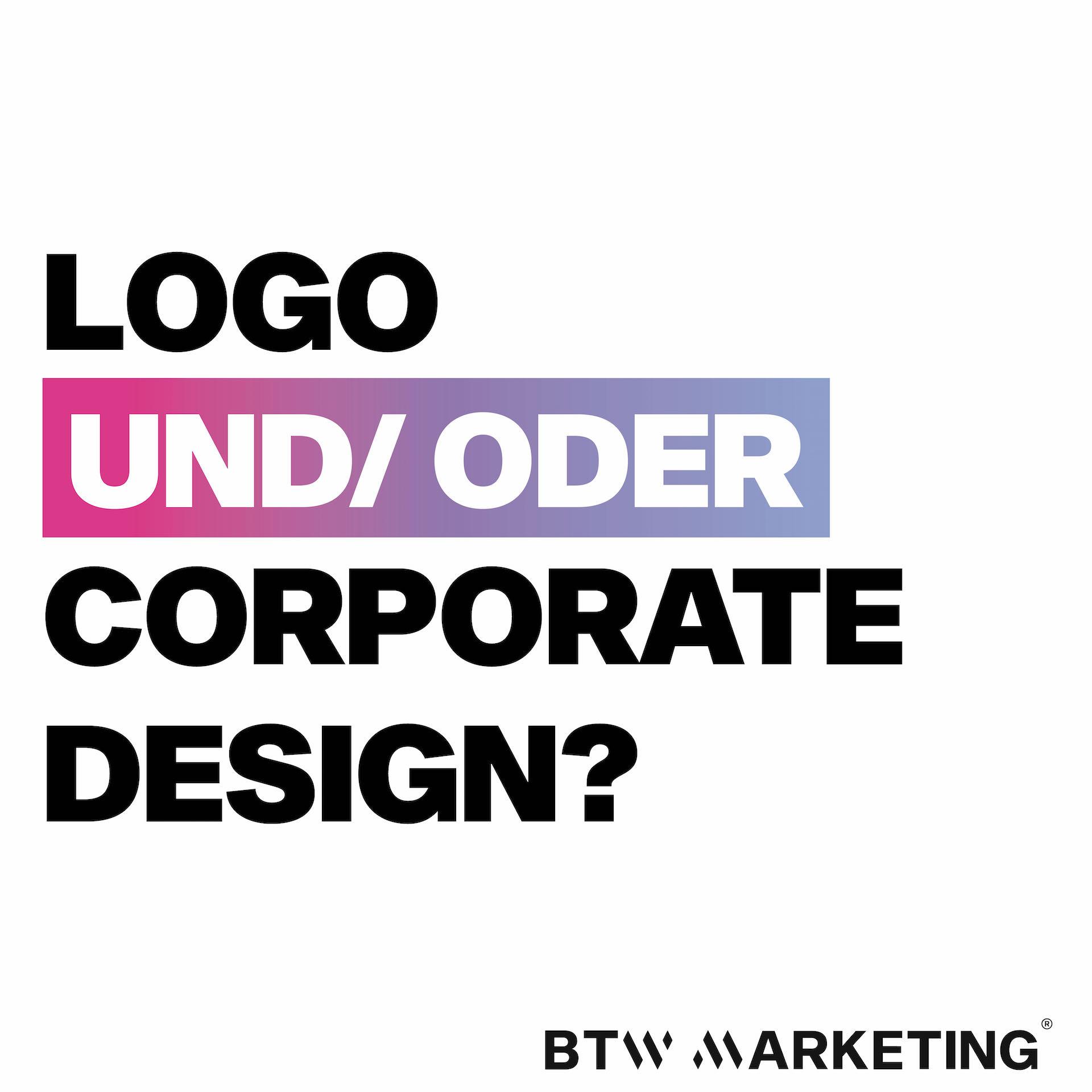 Logo und/oder Corporate Design?